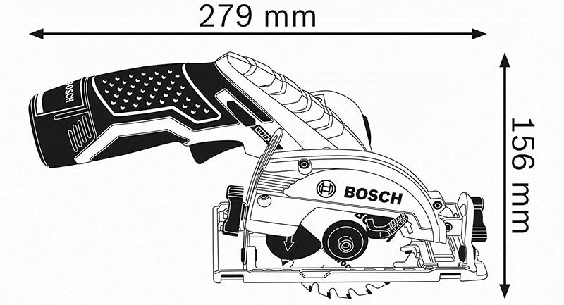 Test Bosch Professional Scie Circulaire Sans Fil GKS 12V-26 Solo