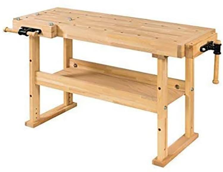 RAMIA Table de travail établi de menuisier Avancé