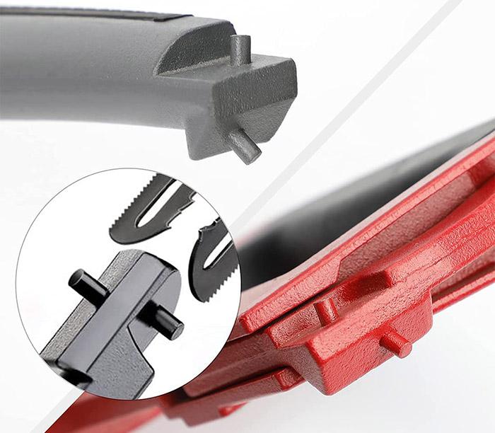 AIRAJ Cadre de scie à métaux haute tension de 300 mm