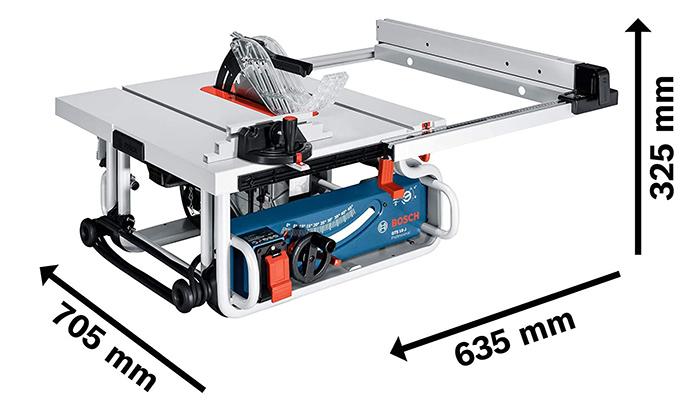 Bosch Professional Scie sur table GTS 10 JRE
