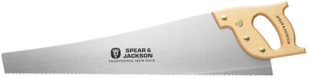 Spear & Jackson 9515K Scie à dos arqué traditionnelle 61 cm