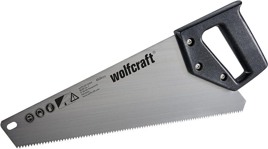 Wolfcraft 4024000 Scie Égoïne Hcs argent