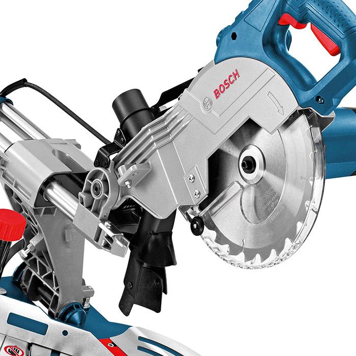 test Bosch Professional Scie à Onglets Radiale Filaire GCM 800 SJ
