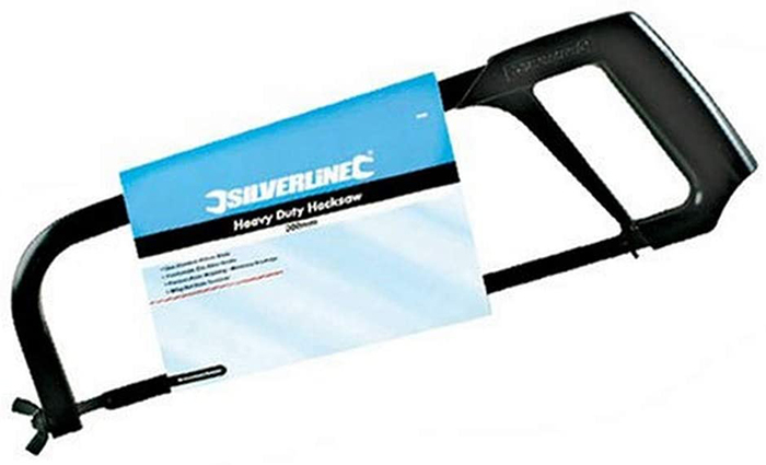 test Silverline SW30 Scie à métaux usage intensif 300 m