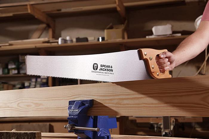 test et avis Spear & Jackson 9515K Scie à dos arqué traditionnelle 61 cm