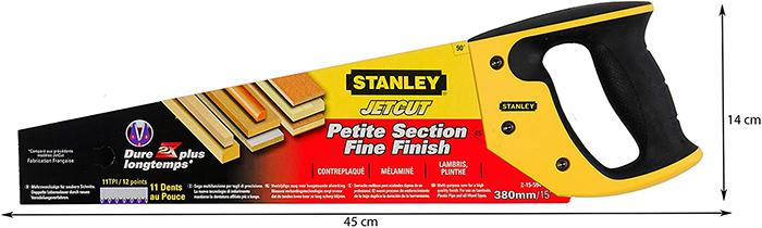 test et avis Stanley 2-15-594 Scie Egoïne JetCut Coupe Fine