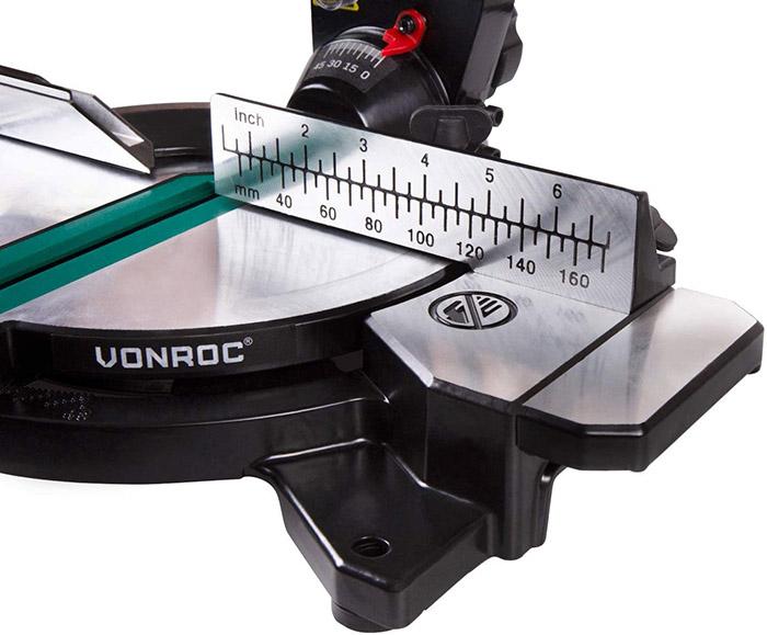 test et avis VONROC Scie à onglet 1700W MS503AC